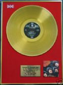 THE BEATLES - LP  24 Carat Gold Disc - RUBBER SOUL